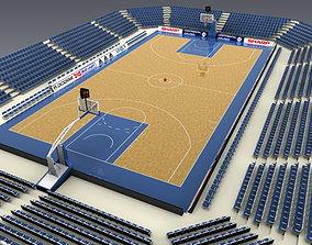 Basketballcourt 3D