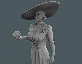 3D printable model Lady Dimitrescu