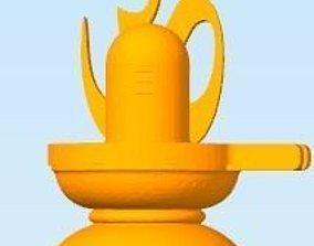 Hindu God Shiva Linga 3D print model