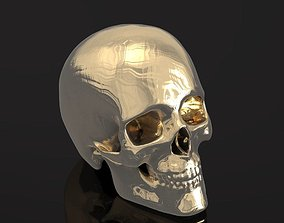 Human skull 047 3D printable model