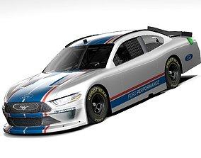 3D model Ford Mustang NASCAR 2020