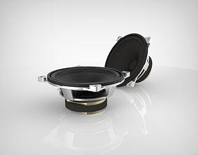 Speaker 3D model vintage