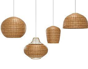 bamboo Bamboo Lamp 3D model