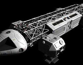 Space 1999 Eagle Transporter 3D
