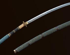 3D model Sangsudo Korean Long Sword