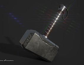Thor Mammer 3D asset VR / AR ready
