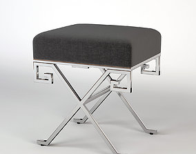 3D Eichholtz Paiva Stainless Steel Stool