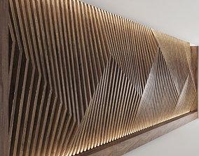3D model Decorative parametric wall