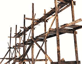 Large scaffolding 3D model