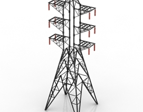 Tower 3D Model clutch