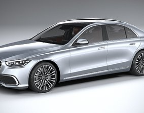 Mercedes-Benz S-Class 2021 3D model
