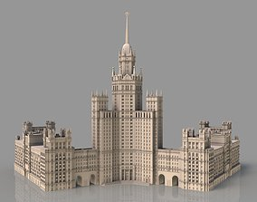 High-rise on Kotelnicheskaya Embankment 3D
