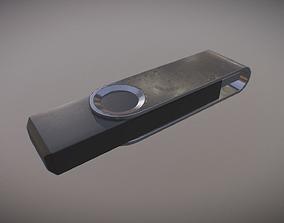 USB Stick PBR Game Ready 3D asset
