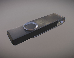 USB Stick PBR Game Ready 3D asset