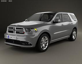 Dodge Durango RT 2014 3D