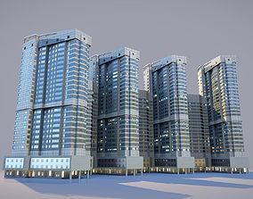 City House Building 25 3D model