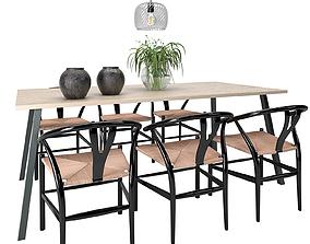 Dining Furnitures Set 52 3D