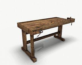 Wooden joinery machine 3D asset