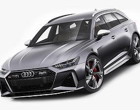 3D Audi RS6 avant 2020