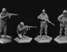 52mm Army 52-120mm 3D model