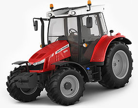3D Massey Ferguson 5600 series tracor