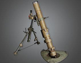 3D asset Military Mortar 01 - MLT - PBR Game Ready