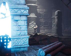3D asset UE4 Sarcophagus