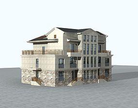 3D model detail Villa