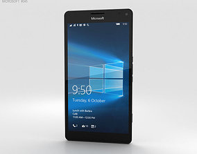 Microsoft Lumia 950 XL White 3D model 3g