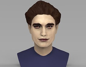 Edward Cullen Twilight Pattinson bust full color 3D