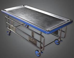3D asset Medical Gurney HPL - PBR Game Ready