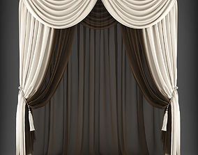 realtime Curtain 3D model 323