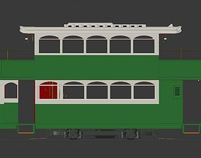 3D model Antique Tramway number 28 from Hong