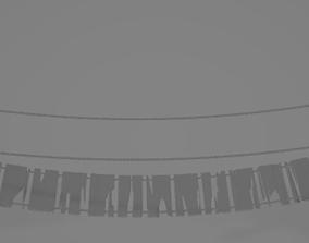 3D Rope Bridge bridge