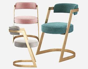 Kelly Wearstler Studio Dining Chair 3D model