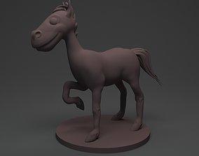cartoon Horse 3D print model