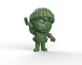 3D print model Tyreese walking dead