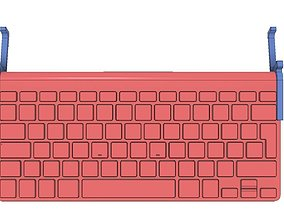 APPLE WIRELESS KEYBOARD TO APPLE 3D printable model 2
