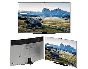 Samsung Curved Smart Tv electronics 3D model
