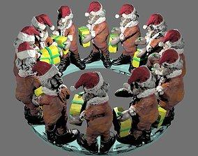 Santa s Gift Exchange 4Dm8or zoetrobe 3D print model