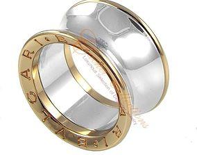 Bulgari Ring 3D print model