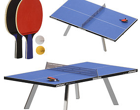 3D Outdoor ping-pong