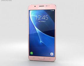 3D model Samsung Galaxy J7 2016 Rose Gold