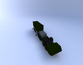 PATRIOT Air Defense Launcher 3D