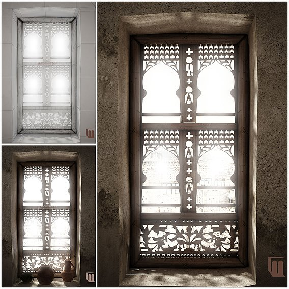 Yemeni Traditional window
