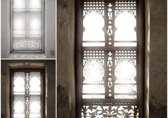 Yemeni Traditional window
