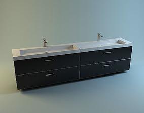 Modern Washstand 3D