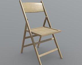 3D asset Folding Chair