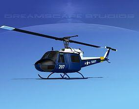 3D Bell UH-1B Iroquois V11 US Navy