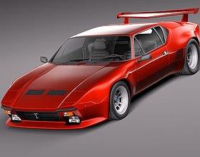 De Tomaso Pantera GTS 1971 1991 3D Model